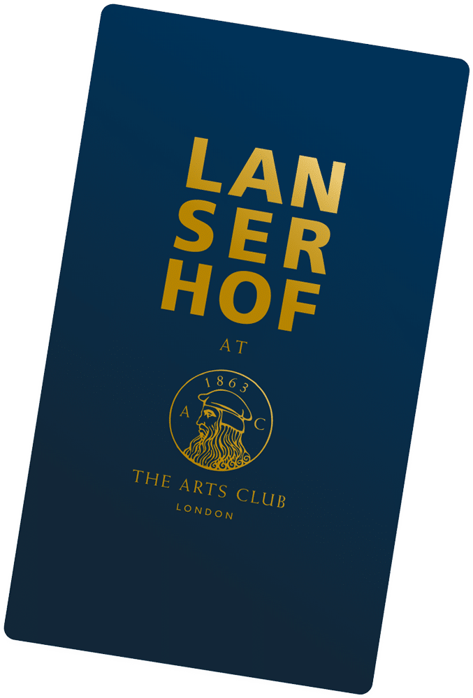 Membership card of Lanserhof at the Arts Club