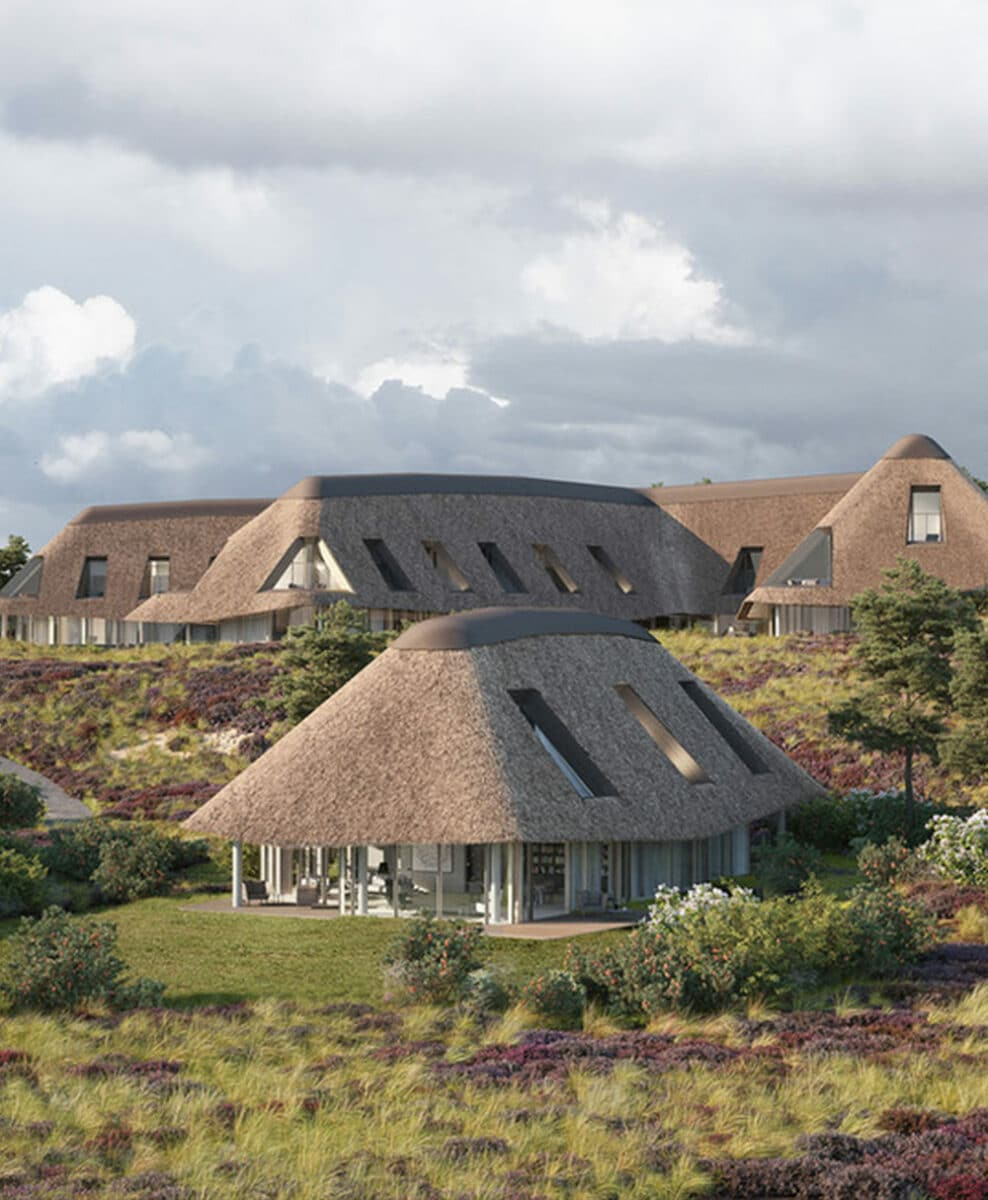 Picture of the Lanserhof resort in Sylt Germany