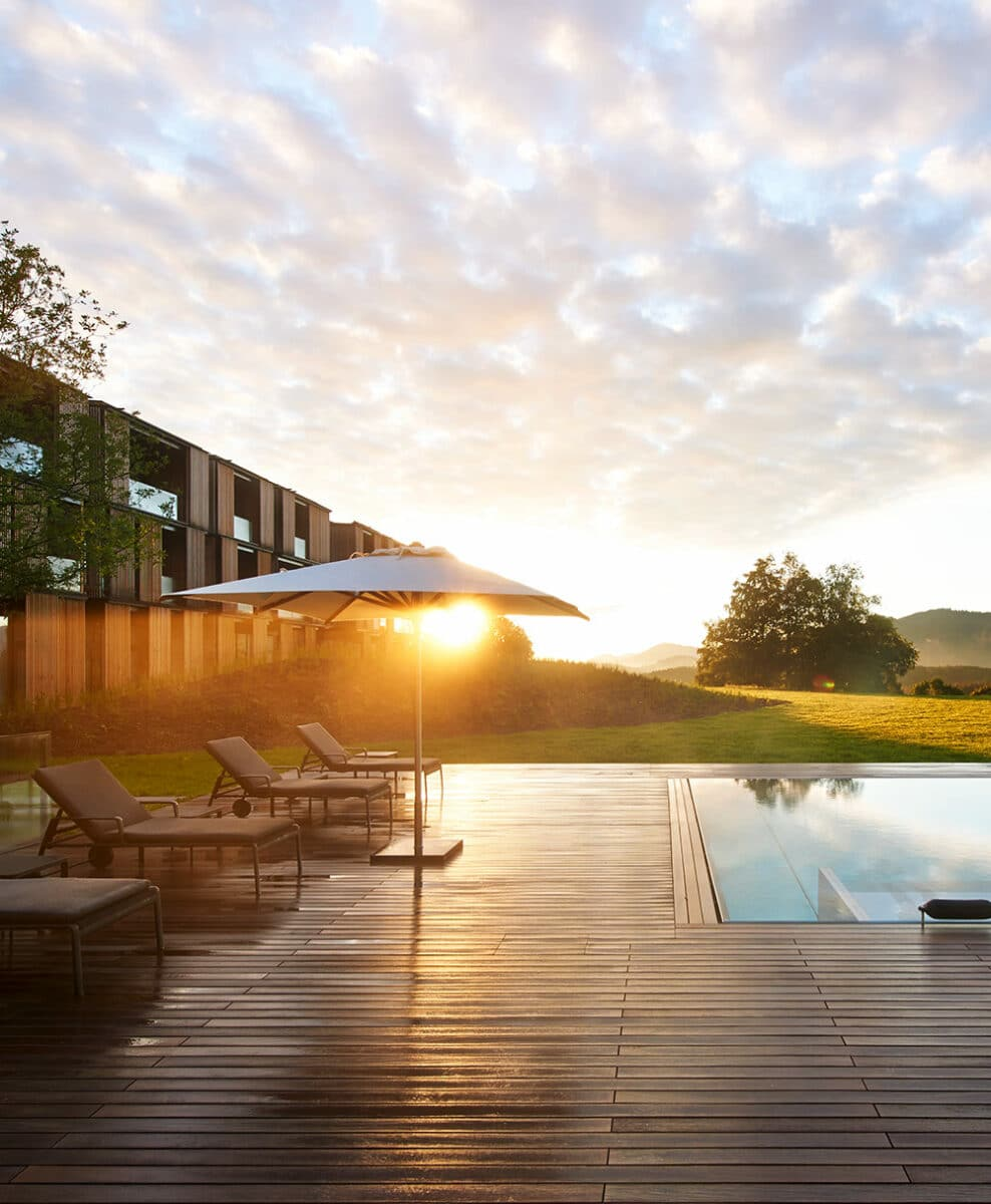 Picture of the Lanserhof resort in Tegernsee Germany