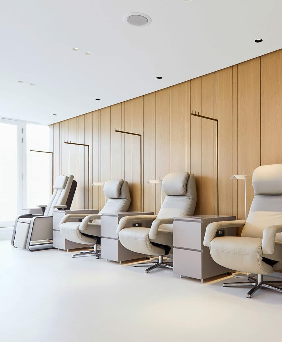 picture of the Infusion Room at Lanserhof at The Arts Club