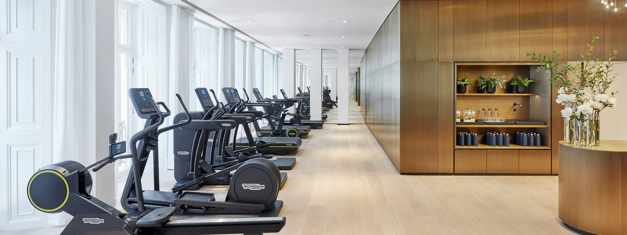 picture of the gym at Lanserhof at the Arts Club